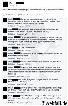 Das Forbes-Magazin kürte Angela Merkel jüngst erneut zur mächtigsten Frau der Welt. Da scheint Marvin anderer Meinung zu sein.