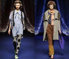 (3) Mercibeaucoup - Mercedes-Benz Fashion Week Tokyo: Japan Fashion Week: Denim & Jeanswear 2013-2014 Fall Winter Womens Runways I