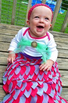No Sew DIY Pirate and Baby Mermaid Costumes!