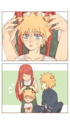 Naruto Uzumaki Shippuden, Naruto Kakashi, Anime Naruto, Naruto Shippuden Characters, Naruto Comic, Naruto Cute, Sasunaru, Narusasu, Minato Kushina