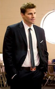 David Boreanaz: he can be my knight in shining FBI standard issue body armor any day
