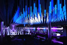 LED Pipes - 16 Million colors Unlimited DMX programming possibility  http://www.disco-designer.com/Online-Store/nightclub-lighting.en.cat.html#prod271