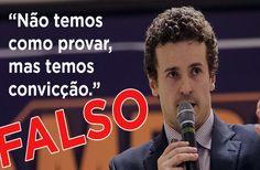 Frase sobre Lula não foi dita por procurador, mas inventada por blog