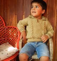 como tejer buzos de lana para niños - Buscar con Google