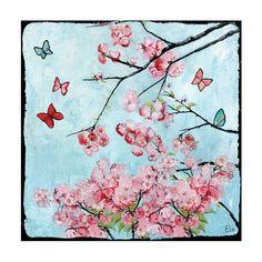 Tableau enfant Arbre aux papillons (bleu) - Lilipinso - Tableaux enfant, porte-photos ... - Décoration murale - Décoration enfant sur Ma Chambramoi, boutique en ligne enfant