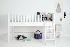 PUNTINI halbhohes Hochbett Fanny Cabin Sanders 90x200 cm NEU weiß Bett halbhoch in Möbel & Wohnen, Kindermöbel & Wohnen, Möbel | eBay