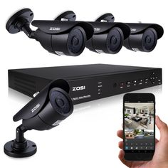 ZOSI 8CH CCTV System 4PCS 1000TVL Outdoor Weatherproof Security Camera 8CH 960H DVR Day/Night DIY Kit Video Surveillance System | Price: US $155.34 | http://www.bestali.com/goto/1867739809/10