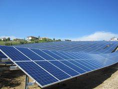 Centrales fotovoltaicas y sistemas al aire libre