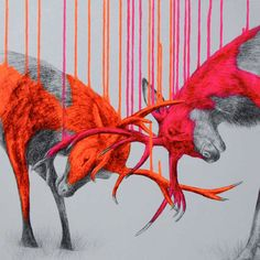 Neon Nature by Louise McNaught