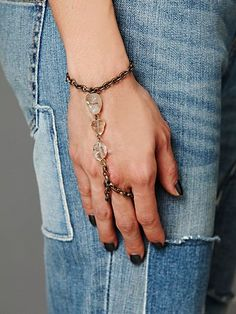 Stone Hand Piece....love this idea