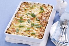 Try this lower-fat lasagna with kidney beans recipe for a guilt-reducing Sunday dinner @taste.com