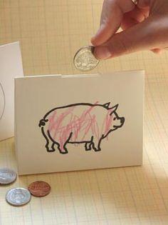 Paper Piggie Bank