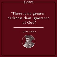 calvin quote for Reformation Day - Yahoo Image Search Results Christian Faith, Christian Quotes, Christian Pictures, Christian Living, Reformation Day, Protestant Reformation, Bible Quotes, Bible Verses, Scriptures