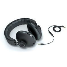 Earphones over the head - headphones over ear purple
