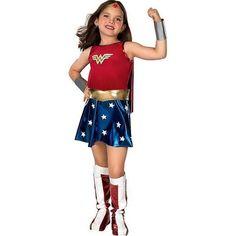 wonder woman kids costumes