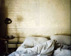 brick wall #bedroom #brickwall #bed