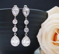Wedding Bridal Jewelry Bridal Earrings