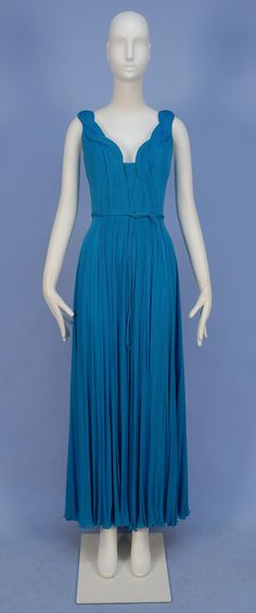 Madame Gres Silk Jersey Dress, 1970's