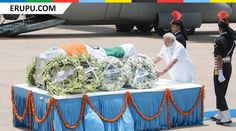 "missile man ""APJ Abdul Kalam"" last Journey photos"