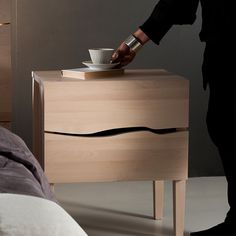 PURO night stand / drawer | Design Tuula Falk | Peltola Oy