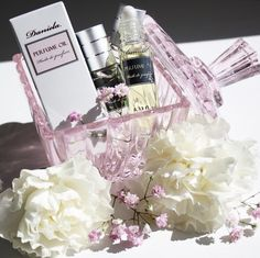 Spring is in the air...check out our selection of perfume oils for a fresh scent for the new season!