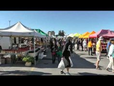St. Jacobs #Market Relaunch, Sept. 5, 2013 - #local #food Food Videos, Street View, World, Youtube, Travel, Viajes, Destinations, The World, Traveling