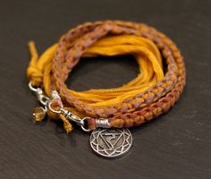 Solar Plexus Chakra Multi Wrap with Citrine hand by alccreations, $110.00