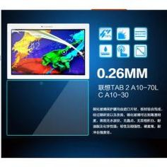 df435f063db Ultra Thin Explosion-Proof Tempered Glass Film For Lenovo Tab 2 Anti  Shatter Screen Protector Film