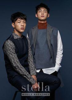 Lee Won Geun and Ji Soo of Cheer Up/Sassy Go Go