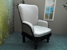 Chair set for 40/43cm BJD, 16, 1:4 scale, MSD, Tonner, JID