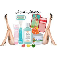 suave shaves, created by gerasilly on Polyvore