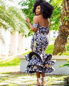 African Print Dresses, African Wear, African Attire, African Fashion Dresses, African Dress, African Inspired Fashion, African Print Fashion, Ethnic Fashion, Graduation Attire