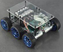 DiddyBorg - The most powerful Raspberry Pi robot available PiBorg Diy Electronics, Electronics Projects, Raspberry Computer, Projets Raspberry Pi, Pi A, Arduino Programming, Linux, Rasberry Pi, Robot Kits