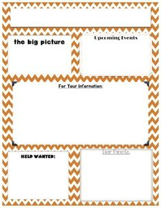 september monthly newsletter template customizable kindergarten