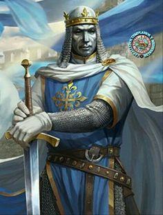Rey Balduino IV Medieval Knight, Medieval Armor, Medieval Fantasy, Good Knight, Knight Art, Age Of Empires, Knights Templar History, King Baldwin, Crusader Knight