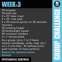 Team Challenge: Group WOD 1.3 - SPARTAN RACE™ Blog