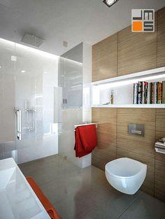Projekt małego mieszkania aranżacja wnętrz w Krakowie osiedle mieszkaniowe Browar Lubicz - JMS