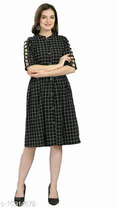 Dresses Shruti Designer Checks Dress With Belt Fabric: Khadi Cotton Sleeve Length: Three-Quarter Sleeves Pattern: Checked Multipack: 1 Sizes: S (Bust Size: 36 in, Length Size: 39 in)  XL (Bust Size: 42 in, Length Size: 39 in)  L (Bust Size: 40 in, Length Size: 39 in)  M (Bust Size: 38 in, Length Size: 39 in)  XXL (Bust Size: 44 in, Length Size: 39 in)   Country of Origin: India Sizes Available: S, M, L, XL, XXL   Catalog Rating: ★4.3 (508)  Catalog Name: Classy Designer Women Dresses CatalogID_2017510 C79-SC1025 Code: 853-10914672-768