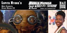 ToyzMag.com » Maz Kanata (Star Wars 7) à Paris Manga 21e édition