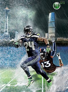Marshawn Lynch Beast Mode Logo | Seattle seahawks wallpaper, post 10