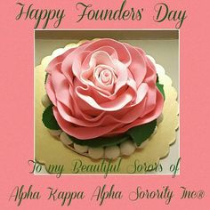 Alpha Kappa Alpha Founders, Kappa Alpha Psi Fraternity, Alpha Kappa Alpha Sorority, Delta Sigma Theta, Aka Founders, Happy Founders Day, Aka Sorority Gifts, Sorority Life, Pretty In Pink