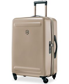 """Victorinox Swiss Army Etherius Metallic 26"""" Expandable Hardside Spinner Suitcase"""