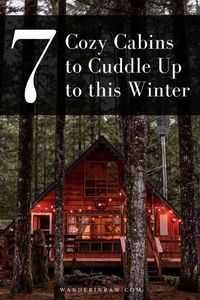A fire lookout-tuned-Airbnb, a treehouse in Canada's Gulf Islands, a cave in Leavenworth, and an adorable A-frame in Washington: Here are my favorite cozy PNW-based cabin escapes. Winter Cabin, Cozy Cabin, Winthrop Washington, Sea To Sky Highway, Pumpkin Spice Candle, Travel Advice, Travel Tips, Travel Couple, The Great Outdoors