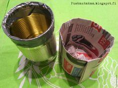 Näin teet helposti kestäviä kylvöruukkuja paperista • Simple DIY paper sowing pots