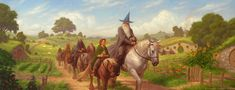 Chris Rahn: Over Hill and Under Hill - The Hobbit as depicted in art over the decades