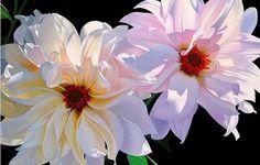 flores oleo hiperrealista - Buscar con Google