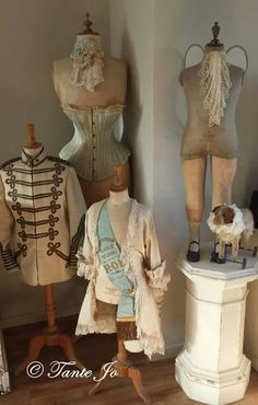 dress forms and mannequins