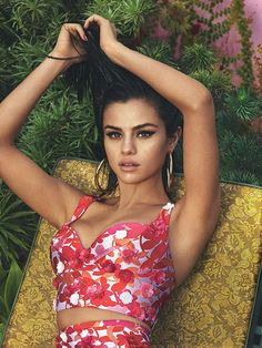 March 16: Selena Gomez for the April 2017 Issue of Vogue Magazine (US) [HQs]