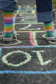 hopscotch # 12 by lydiafairy, via Flickr