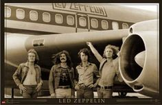 Led Zeppelin Airplane Poster - TshirtNow.net
